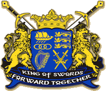 (The King of Swords coat of arms)